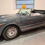 Alfa Romeo 2000 Spider Touring, pieza del mes en el Museo de Historia de la Automoción de Salamanca