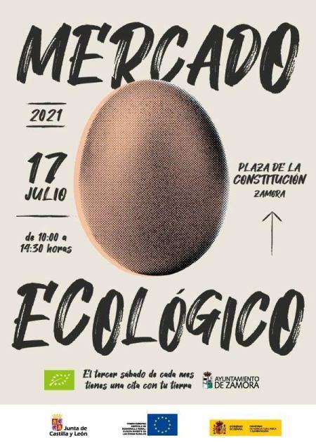 mercado ecológico de Zamora