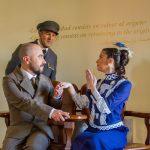 Actores visita teatralizada Casa Botines