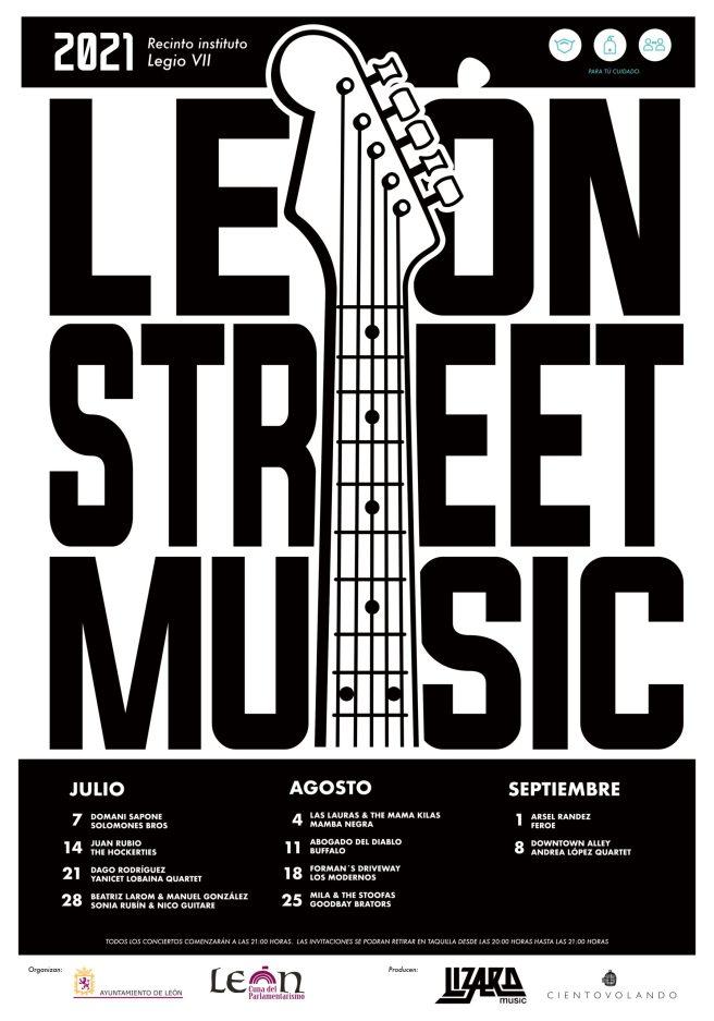CARTEL 'León Street Music'