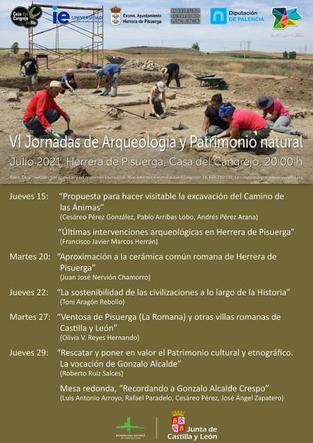 VI Jornadas de Arqueología y Patrimonio Natural