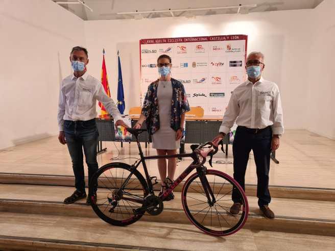 X CerrarPresentación Vuelta Ciclista CyL 2021