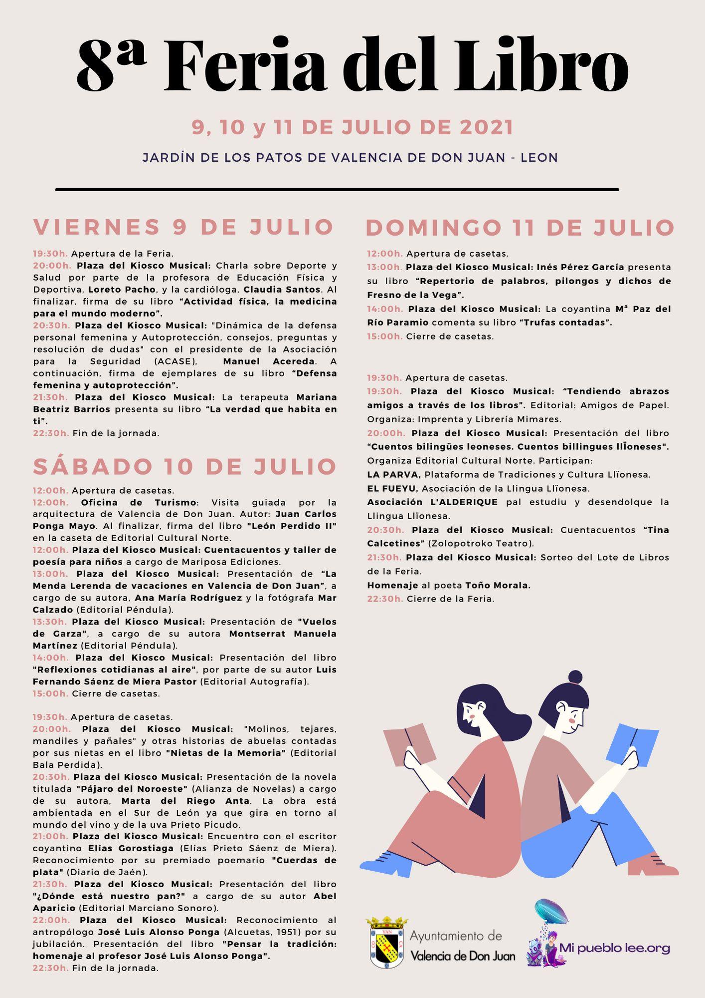 8ª Feria del Libro valencia de don juan