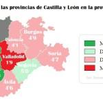 valoracion provincias cyl provincia de leon