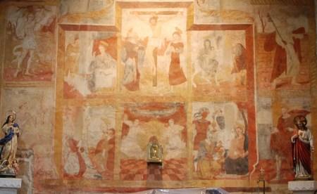 Miranda Do Douro acoge una muestra de las pinturas murales de frontera del siglo XVI