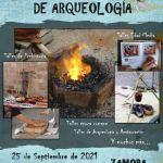 Cartel Talleres de Arqueología 2021