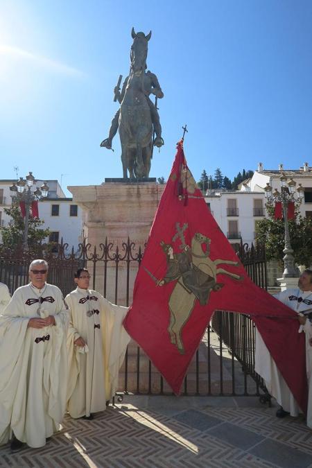 pendón de san isidoro en Antequera