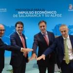 protocolo entre Junta, Ayuntamiento, Diputación y USAL para convertir a Salamanca en motor económico y de empleo