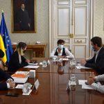 La ministra de Política Territorial, Isabel Rodríguez, ha recibido a una representación del Consejo de la Juventud
