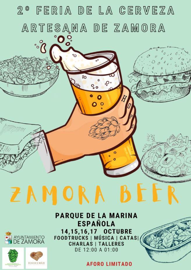 Feria Cerveza 2021. Cartel