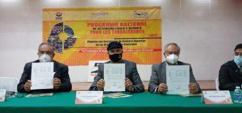 Presenta INDET programa de  activación física para trabajadores