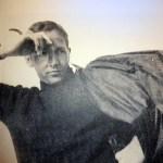 Cy Twombly Portrait de Robert-Rauschenberg,  Tétouan, 1952