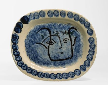 Picasso masque de faune 1947