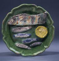 Picasso Nature morte poisson citron 1953