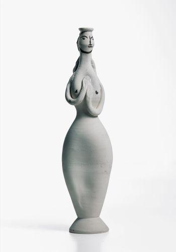 Picasso tanagra blanche recto 1950