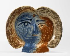 Picasso tete de femme 1947