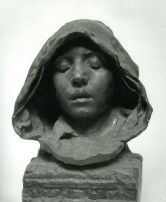 Camille Claudel, Le Psaume, 1889. Sculpture en bronze, Musée Boucher-de-Perthes © RMN-Grand Palais, Paris / Stéphane Maréchalle / Abbeville ; Musée Boucher de Perthes, 2011