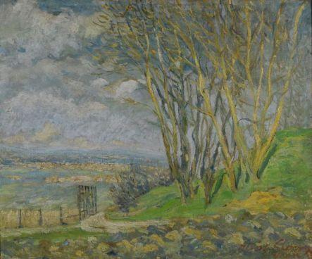 Albert Gleizes, Paysage, 1903
