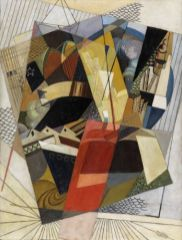 Albert Gleizes Perspective (Port), 1917