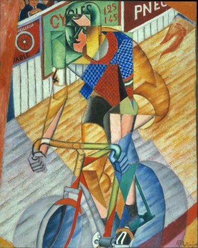 Jean Metzinger Cycliste au vélodrome d'hiver, 1913-1914