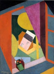 Jean Metzinger, Paysage à la fenêtre ouverte, 1915