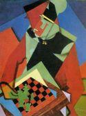 Jean Metzinger Soldat jouant aux échecs 1916