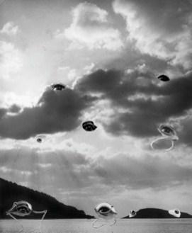 Dora Maar, Sans titre (Les Yeux dans les nuages), circa 1936