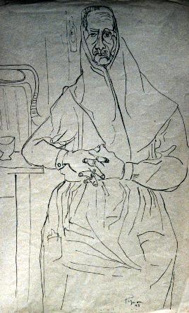 Édouard Pignon, Catalane, 1945