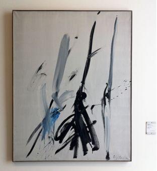 Jean Degottex, le Feu noir (II),1956