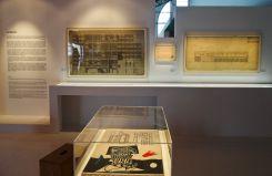 Vue de l'exposition Le Corbusier et la question du brutalisme - La Surface