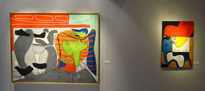 Le Corbusier, Je rêvais (1ère version),1953 côtoie Icône,1964