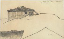 Le Corbusier, Kazanlik, toits et maison, 1911
