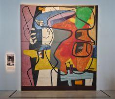 Le Corbusier, Peinture murale, 35 rue de Sèvres, Paris, 1948