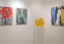 Alain Clément - Vue de l'exposition, Galerie Trintignan, novembre 2013