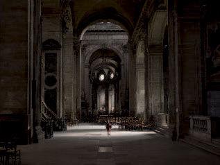 Lucie & Simon, Silent world, 2012, Eglise Saint-Sulpice, Paris