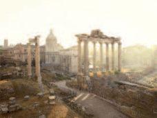 Lucie & Simon, Silent world, 2012, Forum romanum, Rome