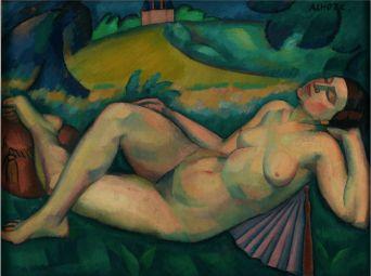 André LhoteHOTE (1885 - 1962), La mélancolie, ca