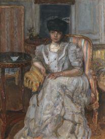 Pierre Bonnard, Portrait de la Princesse Hélène de Caraman-Chimay, 1907
