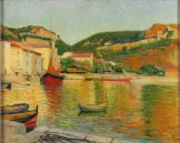 Charles Camoin, Port de Cassis, 1901