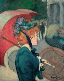 Louis Anquetin, La femme à l'ombrelle, 1891