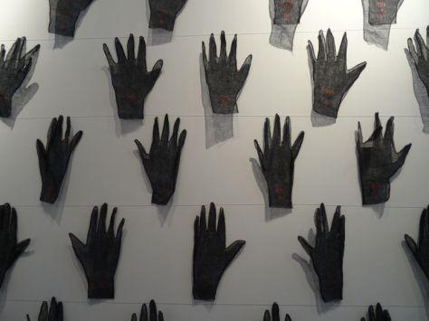 Aline Ribière, Les Mains (détail)