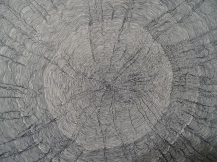 Point gris (détail), 2014