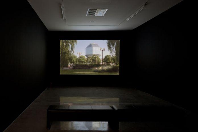 Raphael Zarka, Rhombus sectus, 2009
