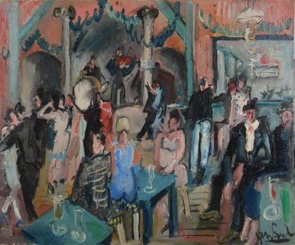 Gen Paul, Bal du Moulin de la Galette, 1925