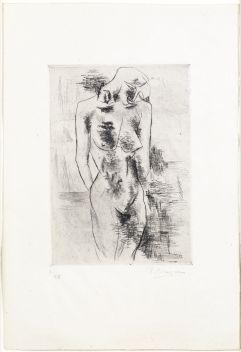 Georges Braque, Etude de nu (Nu 1907)