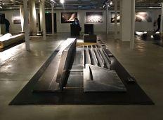 Ricciotti Architecte - Vue de l'exposition à la Fiche de la Belle de Mai