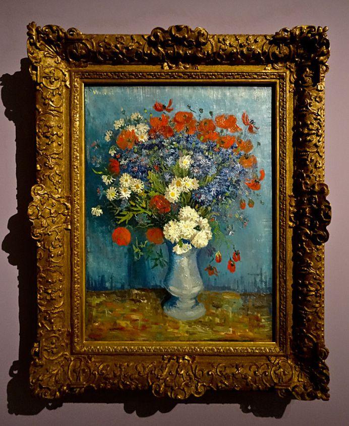 Vincent Van Gogh, Nature morte aux fleurs sauvages et œillets, 1887