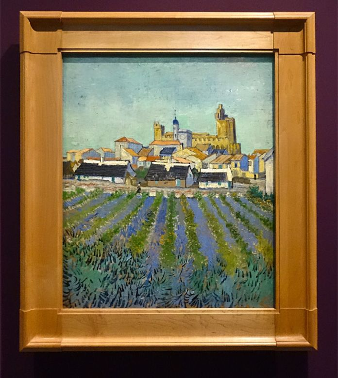 Vincent Van Gogh, Vue des Saintes-Maries-de-la-Mer, 1888