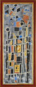 Roger Bissière, Rouge et gris, 1952