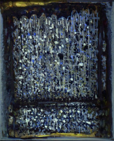 Roger Bissière, Silence du crépuscule, 1964, Collection particulière © studio Muller © ADAGP Paris 2014